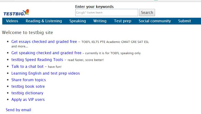 trang web sửa writing
