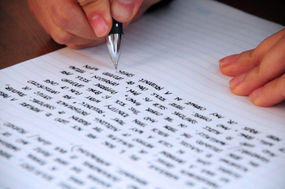 học writing cho người mới bắt đầu